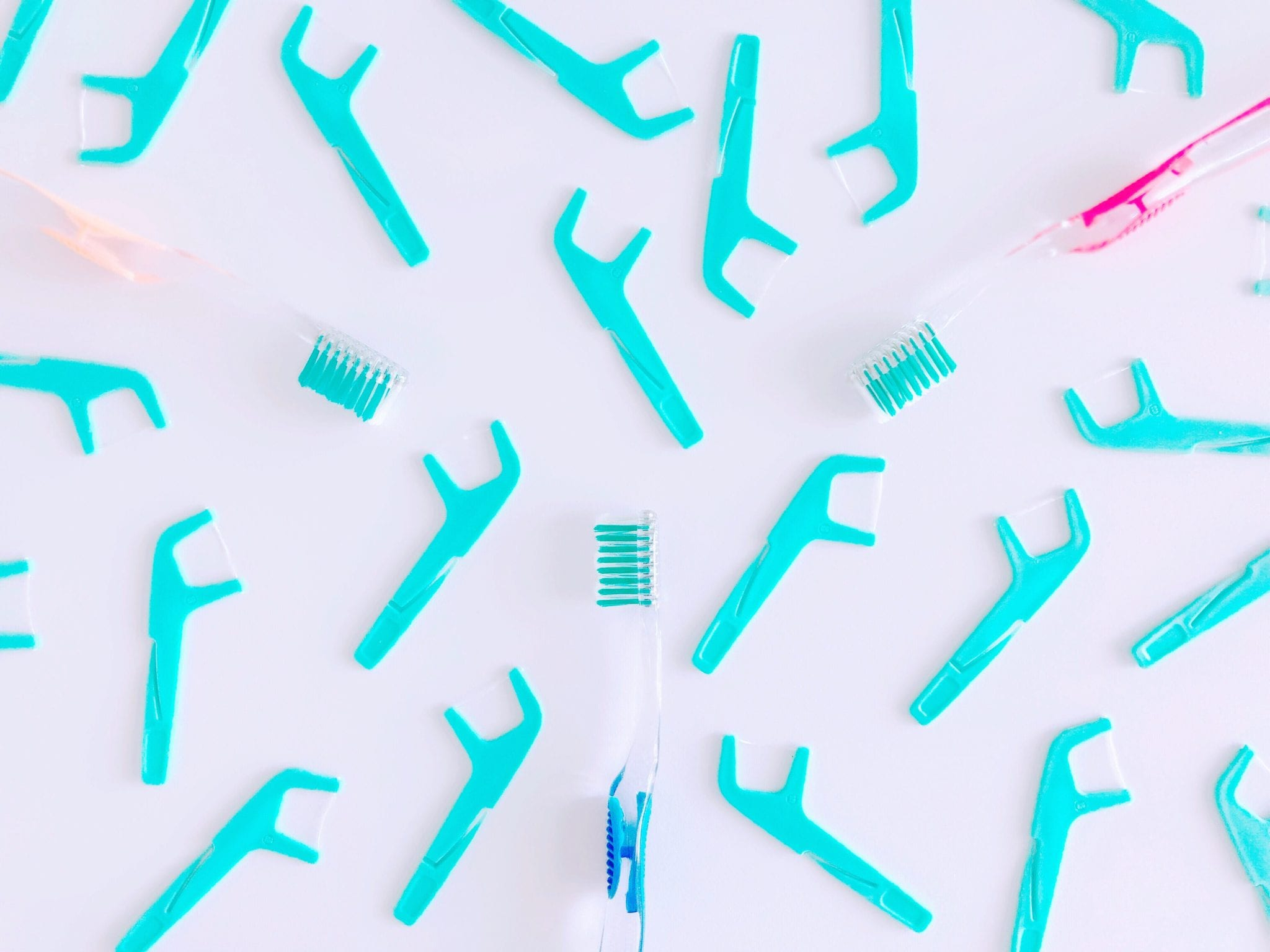 green-flDoes Your Mouth Have Good Bacteria? Ledbetter Family Dental Care in Ardmore Oklahoma and Wynnewood Oklahoma We often talk about how the bacteria in your mouth can lead to gingivitis. oss-toothbrushes-flat-lay-brushing-flossin-GTEKASD